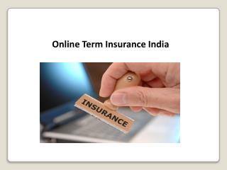 Online Term Insurance India