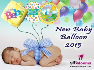 New baby balloons collection 2015