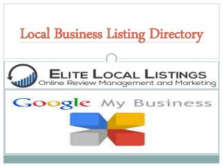 Local Business Listing Directory