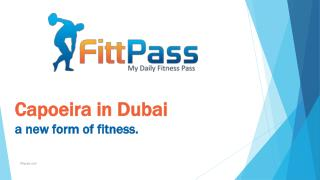 Capoeira in Dubai a new form of fitness