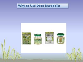 Why to Use Deca Durabolin