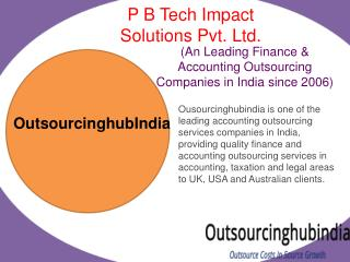 Bookkeeping Outsourcing Services India