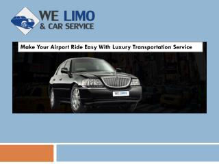 Best-In Class Airport Limousine Service in Aberdeen
