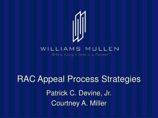 RAC Appeal Process Strategies