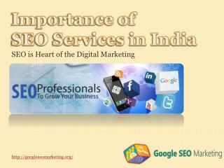 PPT: Importance of SEO Services in India