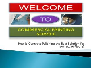 Best Concrete Polishing