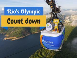 Rio's Olympic countdown