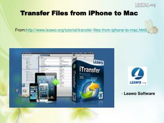 Transfer Files from iPhone to Mac