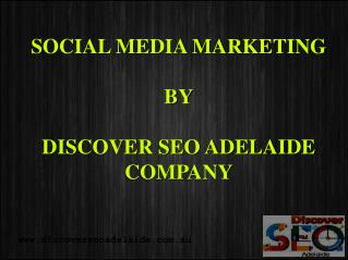 Social Media Marketing Services in Adelaide