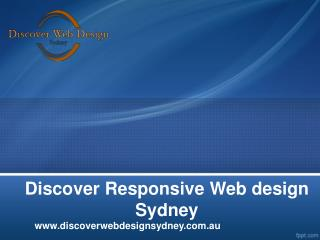 Web design & Web Development Sydney
