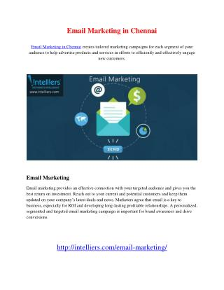 Email Marketing in Chennai