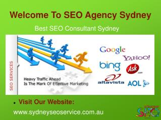 Hire Best SEO Consultant in Sydney