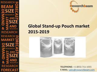 Global Stand-up Pouch Market Challenge, Driver, Trends, Share, Growth, Share, Analysis 2015-2019