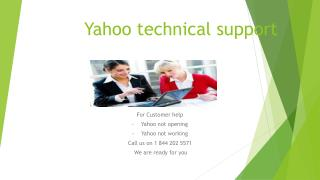 Recover your yahoo password using yahoo tech support