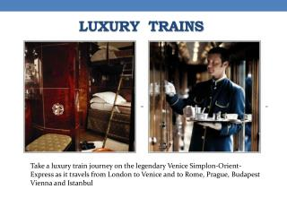 Orient Express to Paris