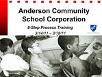 Anderson Community School Corporation