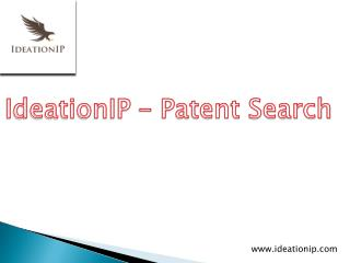 IdeationIP - Novelty Search, Knockout Search, Invalidity Search