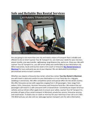 Layman Transport