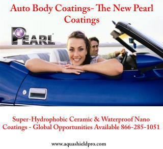 Auto Body Coatings- The New Pearl Coatings