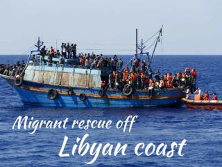 Migrant rescue off Libyan coast