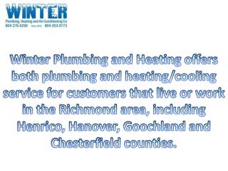 Plumbing and Heating  Services.