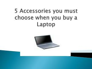 Online laptop accessories