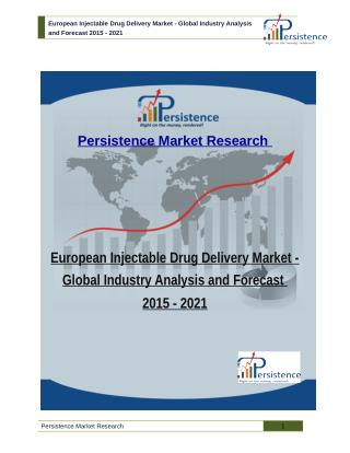 European Injectable Drug Delivery Market - Global Industry Analysis and Forecast 2015 - 2021