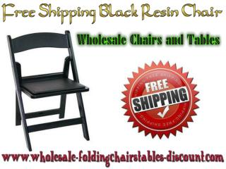 Free Shipping Black Resin Chair - Larry Hoffman