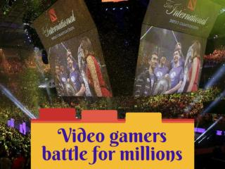 Video gamers battle for millions