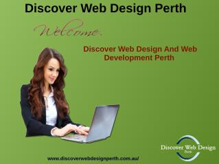 Discoverwebdesignperth- A Graphic Design & Logo Design Services at Perth