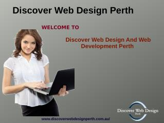 Discoverwebdesignperth- An E-Commerce Web Design & Web Hosting Services Perth