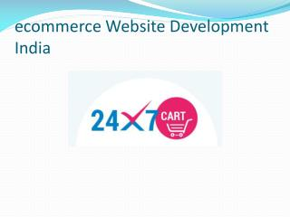 ecommerce Website Development India