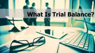 What Is a Trial Balance?
