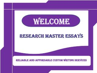 RMEssays professional academic writing services provider