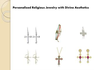 Personalized Religious Jewelry with Divine Aesthetics