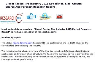 Global Racing Tire Industry 2015 Market Research Report