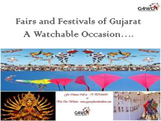 Fairs and Festivals of Gujarat
