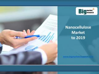 Nanocellulose Market - Trends and Forecast to 2019