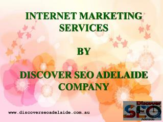 Internet Marketing Services in Adelaide