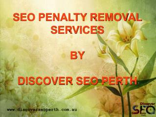 SEO Penalty Removal Services in Perth
