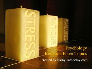 Psychology Research Paper Topics