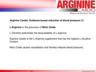 Arginine Cardio by Dr. Rainer Böger