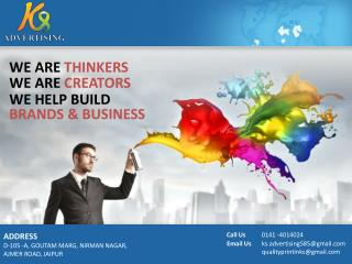 Outdoor Advertising Agency in Jaipur | Indoor Advertising Services