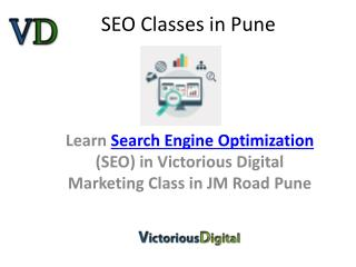 Best Seo classes, training institute Pune, seo expert training institute course in Pune