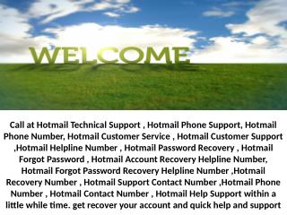 Outlook Technical Support 1-844-711-2888 Helpline Number