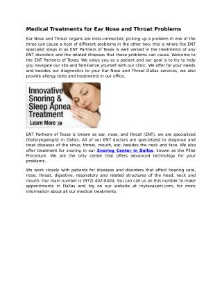 Snoring Center Dallas