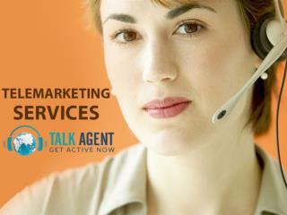 Telemarketing Services From Talk Agent