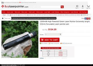 High Powered Laser Pointer