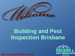 Brisbane Building Inspection and Pest Control Services