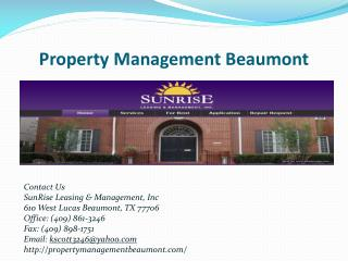 Houses for Rent Beaumont TX